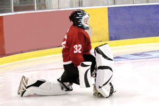 Goalie stretching