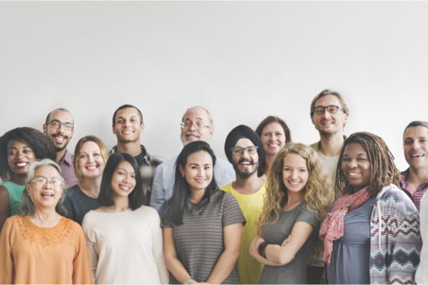 an image of a diverse group of people from different backgrounds
