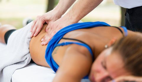 massage lower back for sciatica pain