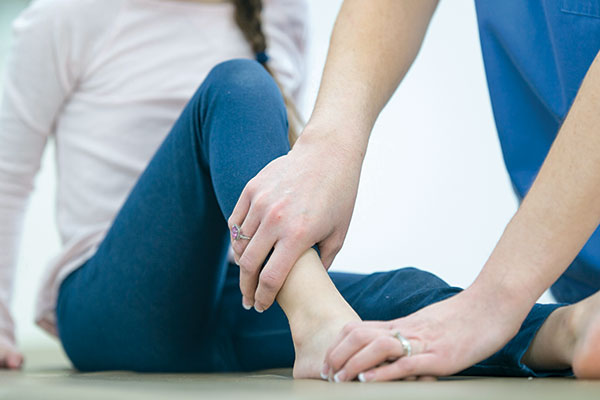 physiotherapy for an ankle injury